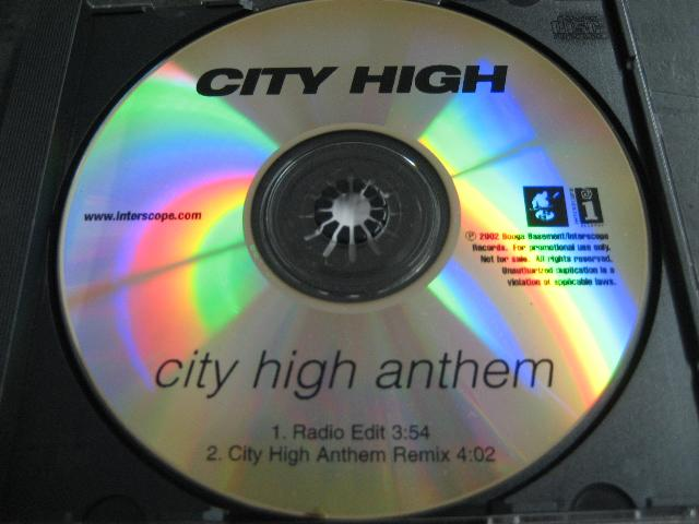 City High - City High Anthem 2trk Promo Cd Cs92