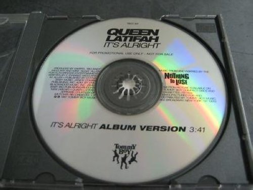 Queen Latifah - It's Alright 1trk Promo Cd Cs319
