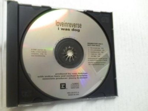 Love In Reverse - I Was Dog 5trk Promo Cd Sampler Cs235