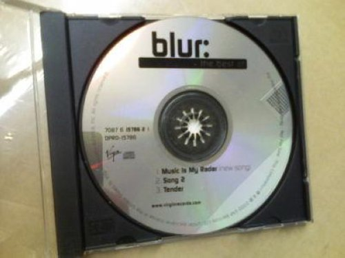 Blur - The Best Of 3trk Promo Cd Sampler Cs67