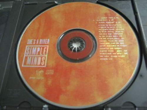 Simple Minds - She's A River 3trk Promo Cd Cs358