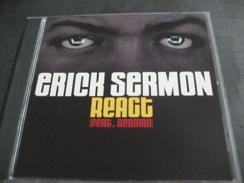 Erick Sermon - React Promo Cd Single Cs350