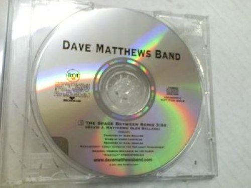 Dave Matthews Band - Space Between Remix Promo Cd Cs248
