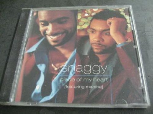 Shaggy - Piece Of My Heart Feat. Marsha 3trk Promo Cd Cs353