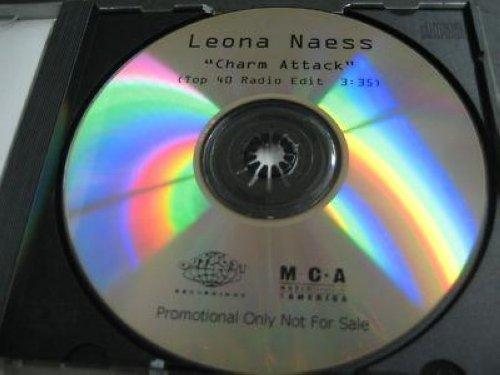 leona naess charm attack test press 1 track u s promo dj