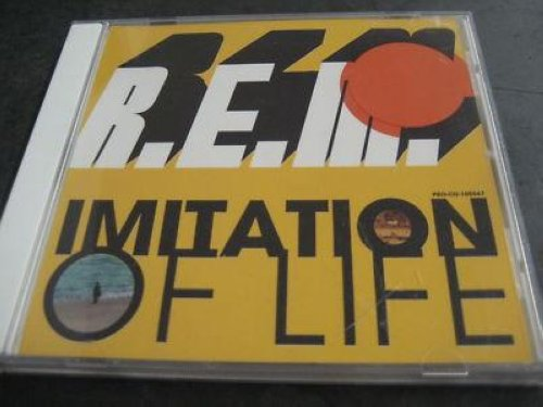 R.e.m. - Imitation Of Life 1trk Yellow Promo Cd Cs330