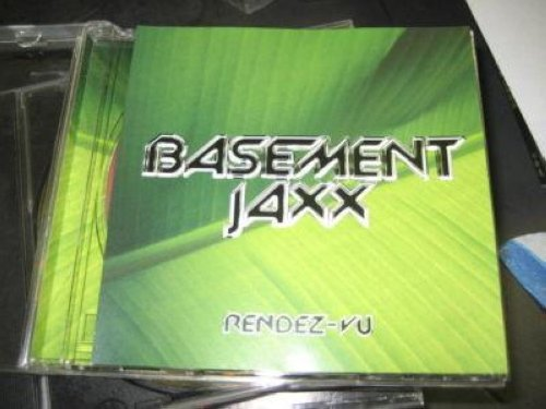 Basement Jaxx Rendez Vu 3trk Promo Cd Cs26 CD:SINGLE
