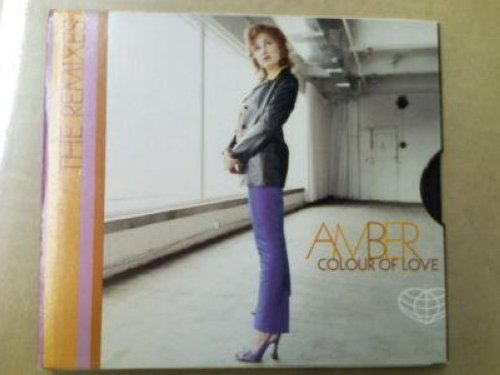 Amber - Colour Of Love 2trk Promo Cd Single Cs12