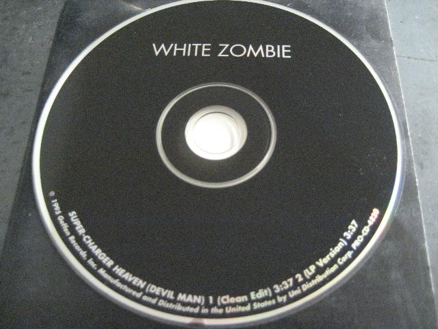 White Zombie - Super Charger Heaven 2trk Promo Cd Cs425