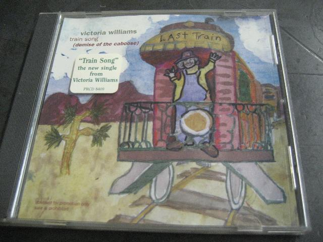 Victoria Williams - Train Song 2trk Promo Cd Cs427
