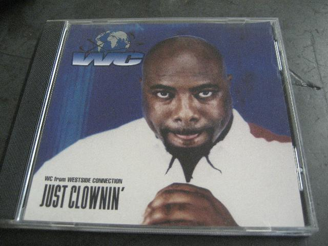 Wc - Just Clownin' 2trk Promo Cd Cs423