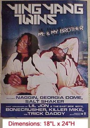 Ying Yang Twins - Me & My Brother 18x24 Poster