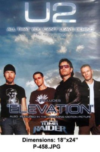 U2 - All That You Can't Leave Behind 18x24 Poster P458
