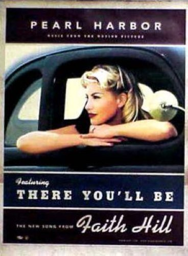 Faith Hill There Youll Be 18x24 Poster
