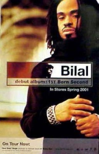 Bilal - 1st Born Second On Tour 11x17 Poster