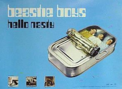 Beastie Boys - Hello Nasty In Blue 18x24 Poster