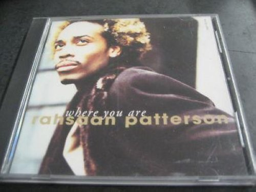 Rahsaan Patterson - Where You Are 3trk Promo Cd Cs299