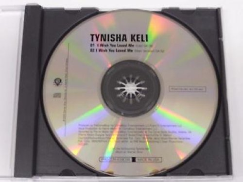 Tynisha Keli I+Wish+You+Loved+Me+2vrs+Promo+Cd+Cs192 CD:SINGLE