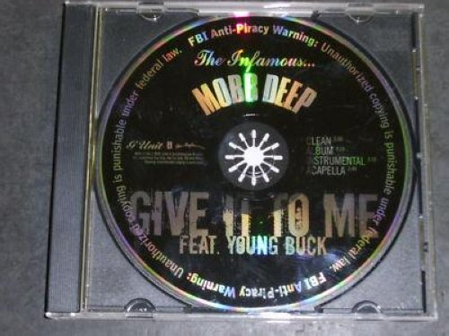Mobb Deep - Give It To Me 4vrs Promo Cd Cs187