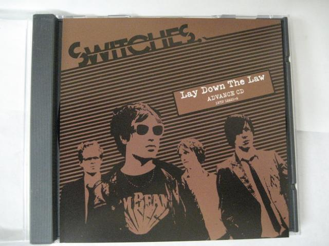 Switches Lay Down The Law 11trk Promo Adv Cd Cs134 CD:SINGLE