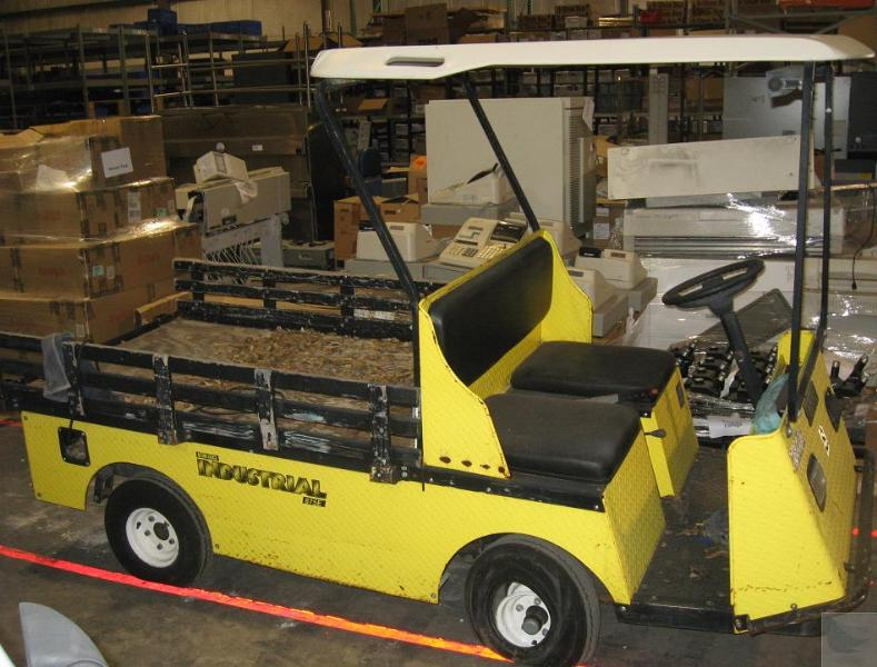 1999 ez go textron industrial 875e xi875 electric utility for Ez go golf cart electric motor repair