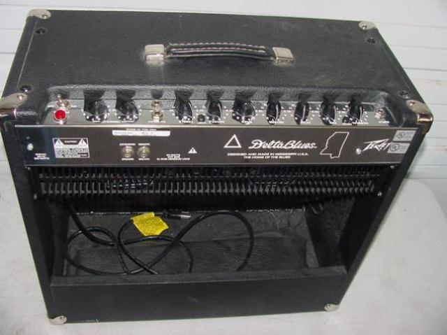 rare peavey delta blues 2x10 39 39 210 combo electric guitar tube amp amplifier ebay. Black Bedroom Furniture Sets. Home Design Ideas