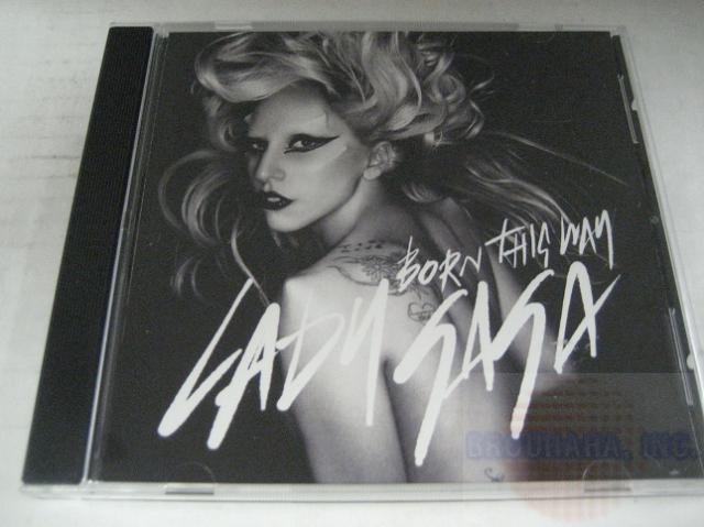 Lady Gaga - Born This Way 1trk Testpress Promo Cd Cs4