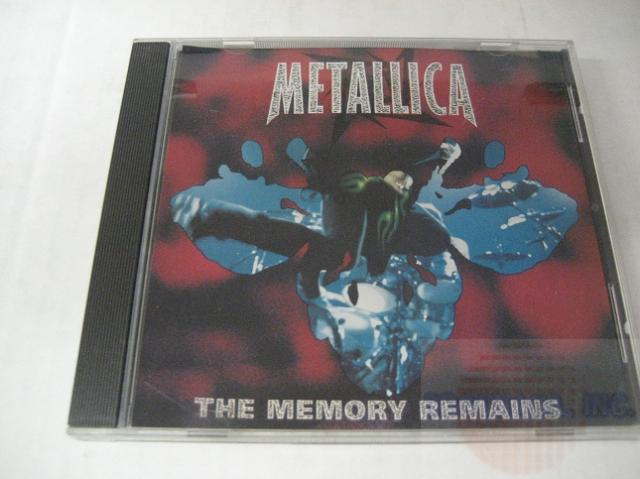Metallica - The Memory Remains 1trk Promo Cd Cs254