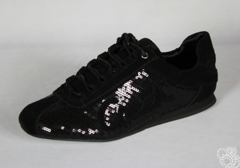 COACH Hope Casual / Dress Black Sequins Womens Sneakers ...