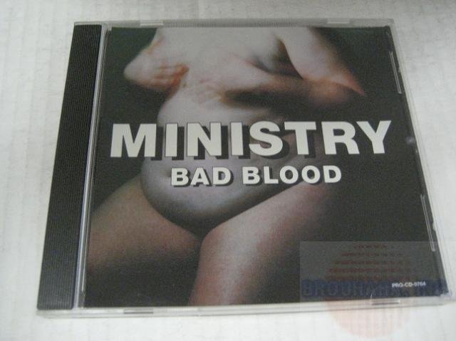 Ministry Bad Blood 2trk Promo Cd Cs258 CD:SINGLE