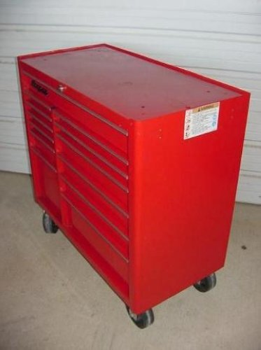 Nice Snap On Tools 13 Drawer Storage Roll Cab Kra4813 Red