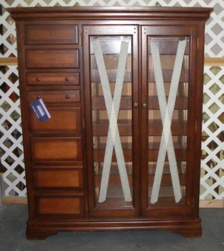 Rare Universal Furniture Alexander Julian Home Colours Haberdasher Chest  Cabinet | EBay