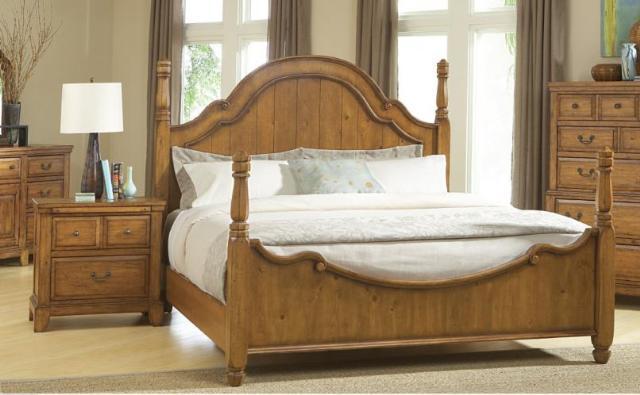broyhill attic heirlooms heritage poster bedroom set queen