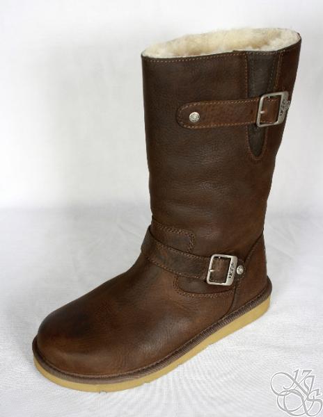 ugg australia kensington toasted brown leather womens
