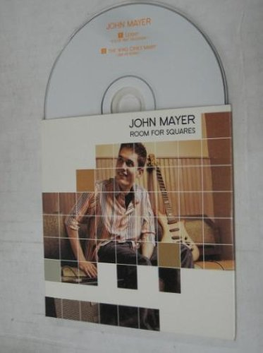 john mayer room for squares records vinyl and cds hard to find and out of print. Black Bedroom Furniture Sets. Home Design Ideas