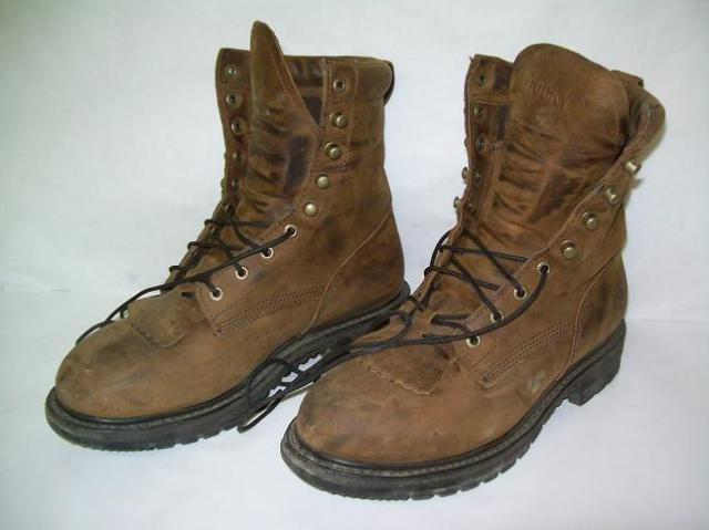 rocky shoes and boots 2724 rider lacer boots s 9w