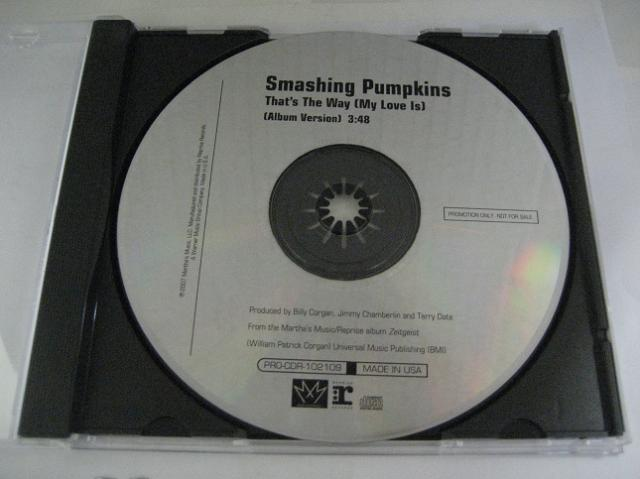 Smashing Pumpkins - That's The Way 1trk Promo Cd Cs363