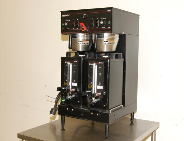 Bunn Coffee Maker Does Not Heat Water : Bunn Dual Soft Heat Satellite Coffee Brewer