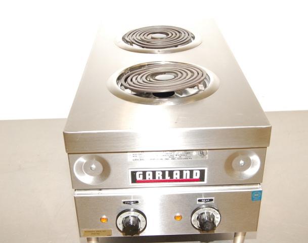 Garland Electric 2-Burner Countertop Range, 15