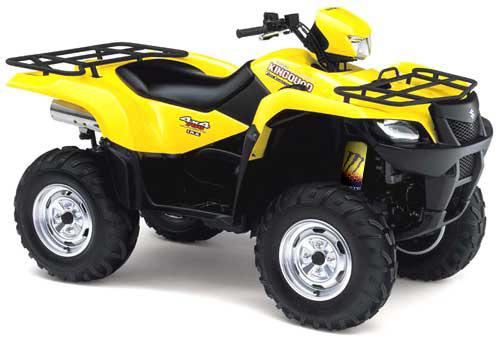 Yellow Shock Covers Suzuki Twin Peaks 700 Quadrunner 160 Ozark 250 Eiger 2wd 400