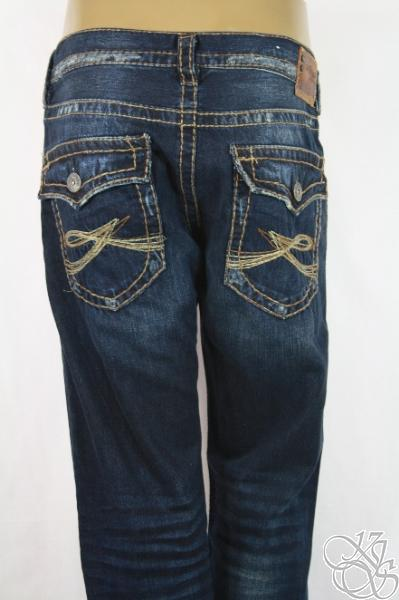 SILVER-JEANS-925-Series-Zac-Surplus-Relaxed-Bootcut-Indigo-Mens-Pants-New