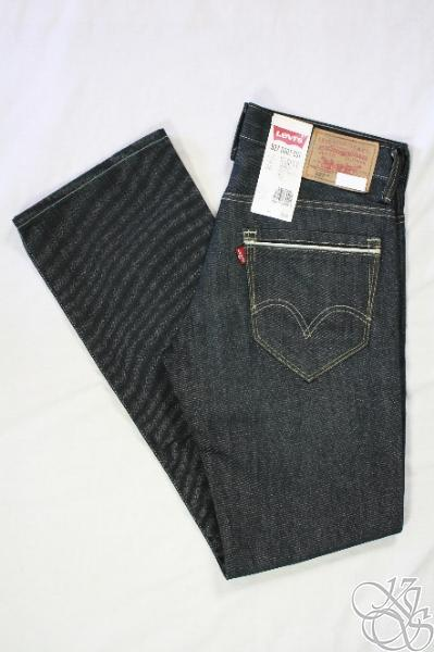LEVIS-JEANS-527-Boot-Cut-Straight-Fit-Everglade-Denim-Mens-Pants-New