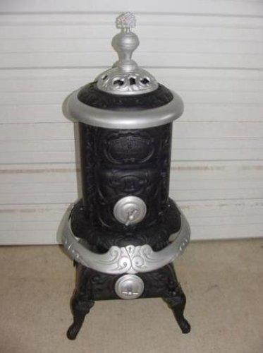 Vintage march brownback stove co wood burning parlor antique - Antique wood burning stove ...