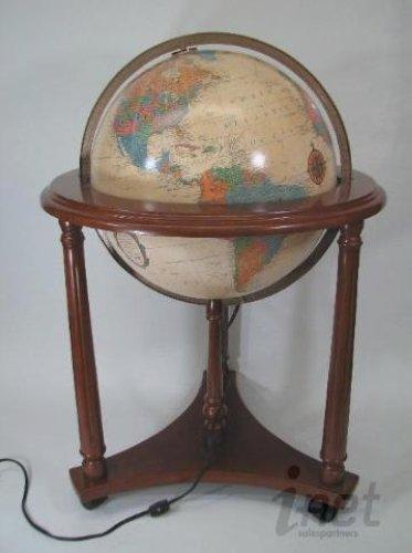 Replogle 64005 lafayette illuminated antique 16 globe for Illuminated floor