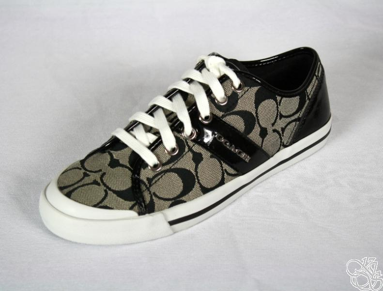 COACH-Fillmore-12CM-Signature-C-Black-White-Womens-Sneakers-Shoes-New-A1780