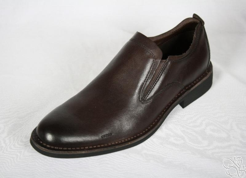 cole haan air blythe slip on loafer chocolate mens