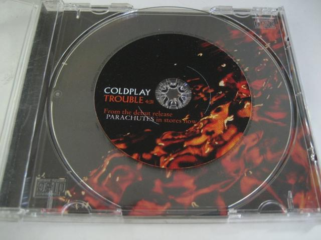 Coldplay - Trouble 1trk U.s. Promo Cd Cs83