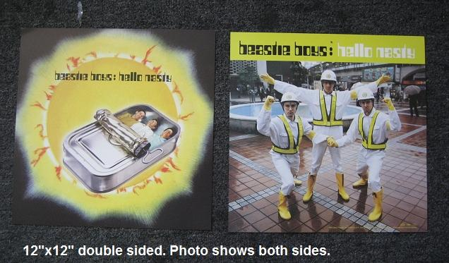 Beastie Boys - Hello Nasty 12x12 Double Sided Poster Flat