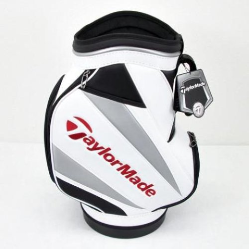 2011 taylormade den caddy mini staff bag white black