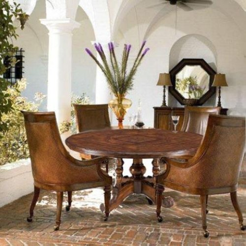 Ernest hemingway lillas table valencia club chair set Ernest hemingway inspired decor